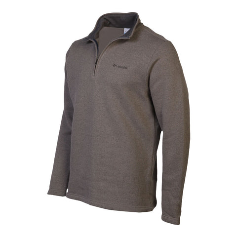 COLUMBIA MEN'S GREAT HART MOUNTAIN 1/2 ZIP TOP BOULDER