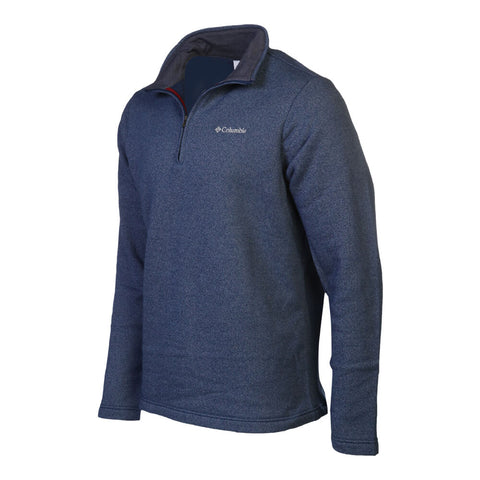 COLUMBIA MEN'S GREAT HART MOUNTAIN 1/2 ZIP TOP CARBON