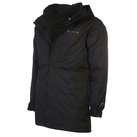 COLUMBIA MEN'S BLIZZARD FIGHTER INSULATED JACKET BLACK