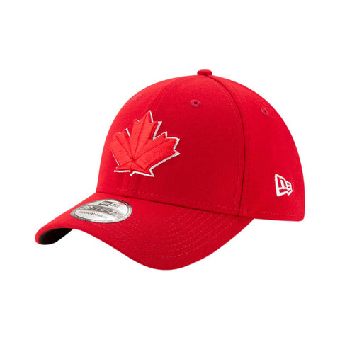 NEW ERA TORONTO BLUE JAYS TEAM CLASSIC 3930 ALTERNATE 2 CAP RED