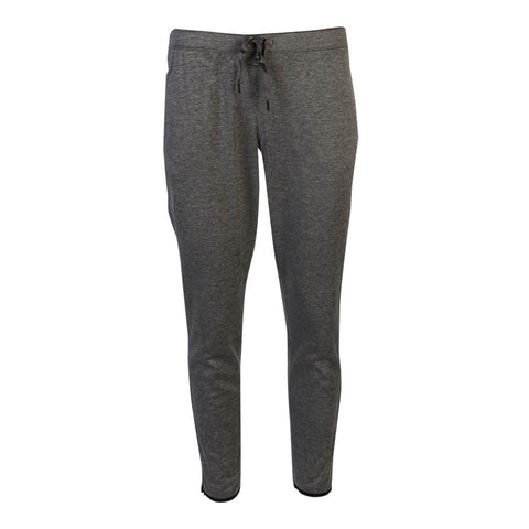 REEBOK WOMEN'S FORCE SLIM TRACK PANTS GREY HEATHER