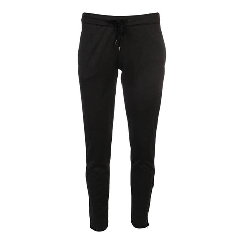 REEBOK WOMEN S FORCE SLIM TRACK PANTS BLACK HEATHER ... 1fedc48ce