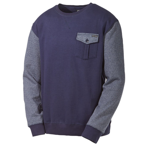 BODY GLOVE MEN'S SPECTRA CREW NECK TOP INDIGO