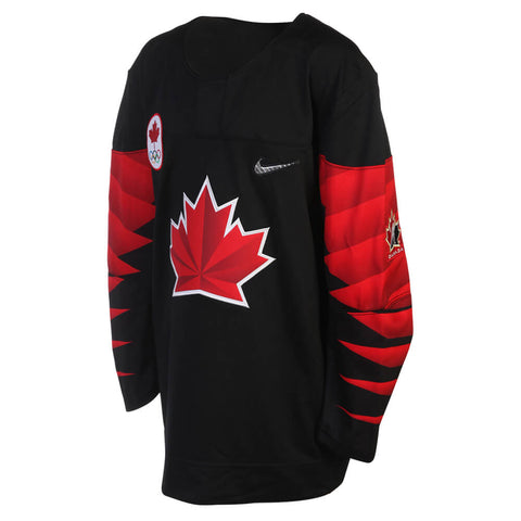 NIKE YOUTH TEAM CANADA OLYMPIC JERSEY BLACK