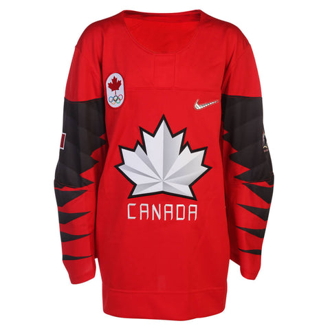 NIKE YOUTH TEAM CANADA OLYMPIC JERSEY RED
