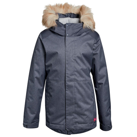 UNDER ARMOUR G CGR YONDERS PARKA APOLLO GRY