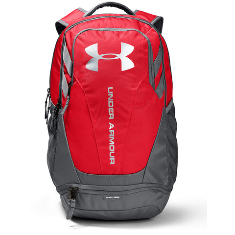 UNDER ARMOUR HUSTLE 3.0 BACKPACK RED