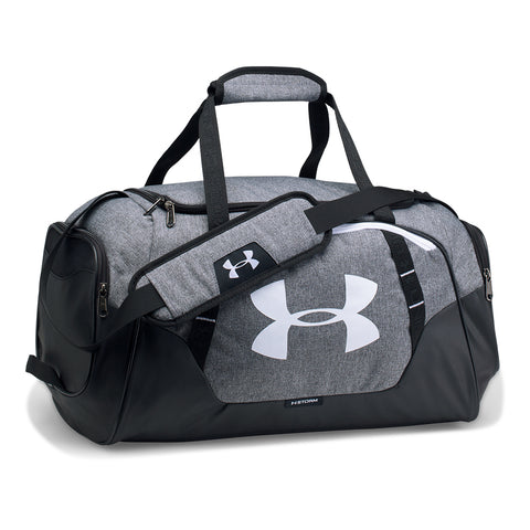 UNDER ARMOUR UNDENIABLE DUFFLE 3.0 SMALL GRAPHITE/WHITE