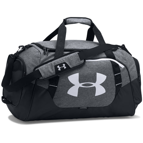 UNDER ARMOUR UNDENIABLE DUFFLE 3.0 MEDIUM GRAPHITE/WHITE