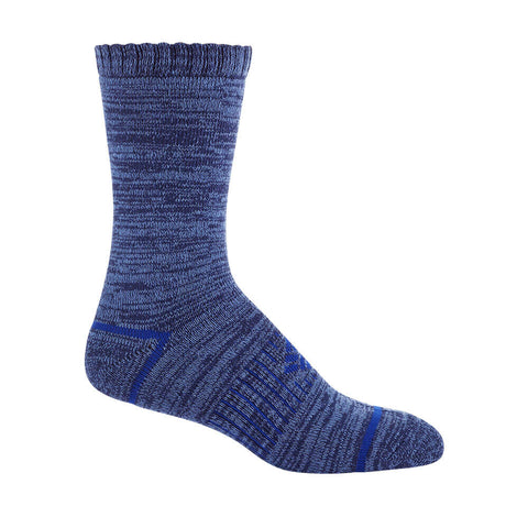 COLUMBIA WOMEN'S 2 PACK SPACEDYE CREW SOCKS 9-11 NAVY