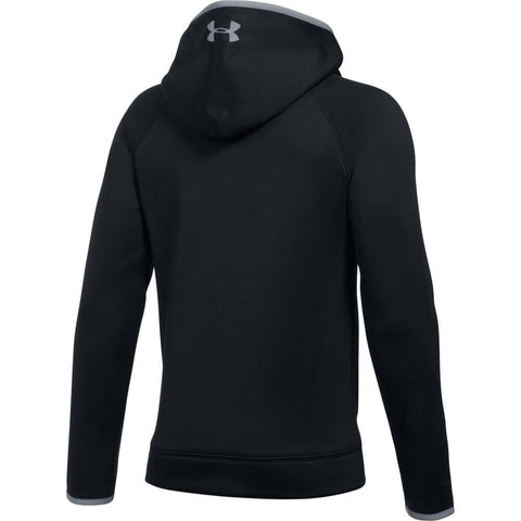 UNDER ARMOUR BOYS AF BIG LOGO HOODY BLACK