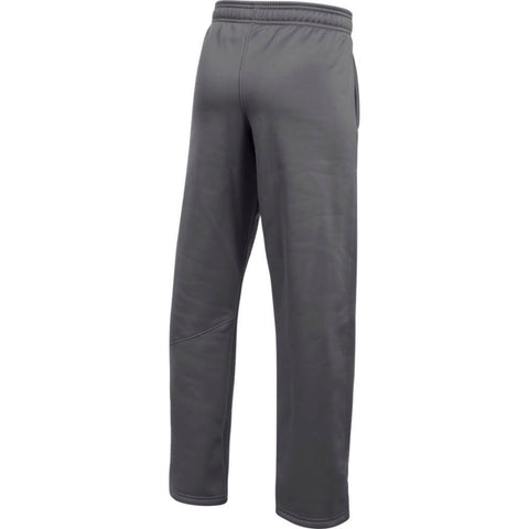 UNDER ARMOUR BOYS BIG LOGO FLEECE PANT GRAPHITE