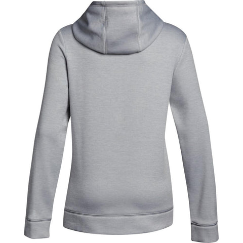 UNDER ARMOUR GIRLS NOVELTY AF BIG LOGO HOODY OVERCAST GRAY