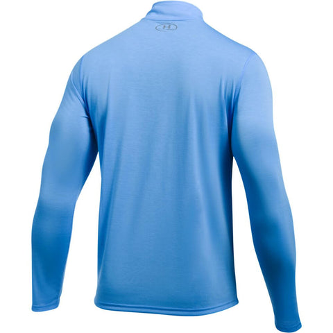 UNDER ARMOUR MEN'S THREADBORNE 1/4 ZIP TOP MAKO BLUE