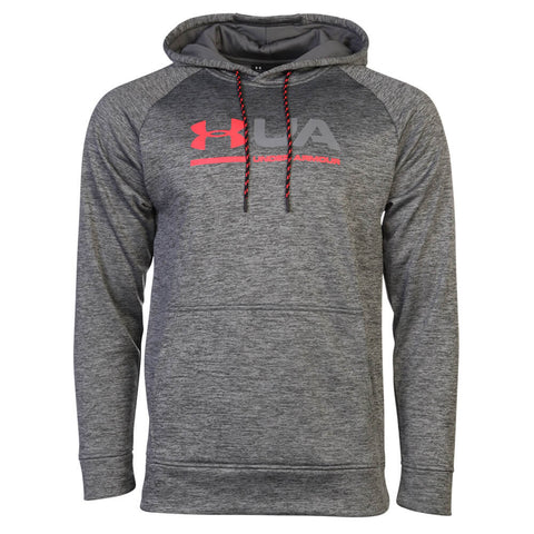 UNDER ARMOUR MEN'S AF TONAL TWIST GRAPHIC HOODY GRAPHITE