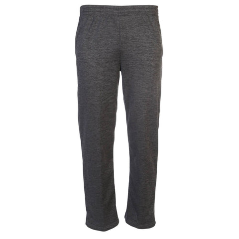 ADIDAS MEN'S TI FLEECE PANT DARK GREY HEATHER