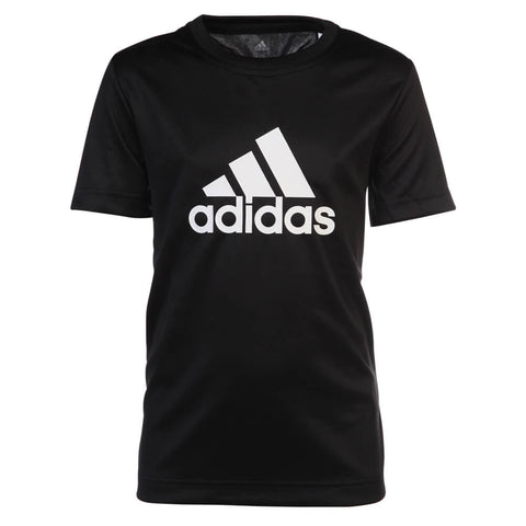 ADIDAS BOYS' GEAR UP TOP BLACK