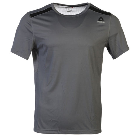 REEBOK MEN'S WOR SHORT SLEEVE TOP ALLOY