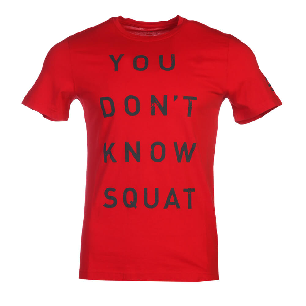 0a9d17691 REEBOK MEN'S DON'T KNOW SQUAT TEE PRIMAL RED – National Sports