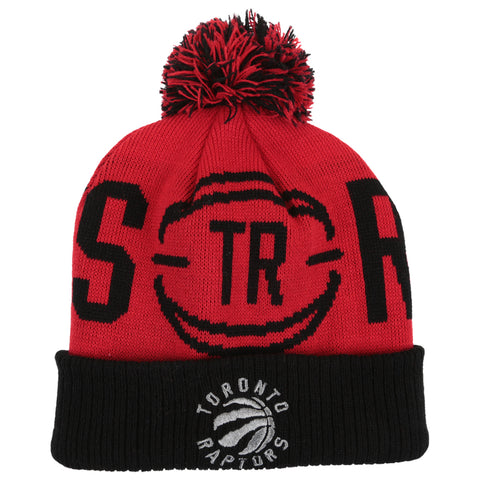 OUTERSTUFF 8-20 TORONTO RAPTORS THROWBACK CUFFED POM HAT