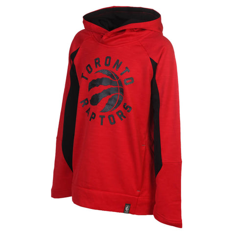 OUTERSTUFF BOYS' TORONTO RAPTORS DUNK SHOT HOODY RED