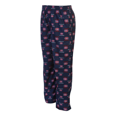 OUTERSTUFF YOUTH MONTREAL CANADIENS TEAM LOGO PRINTED PANT