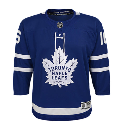 88f4049997c ... OUTERSTUFF YOUTH TORONTO MAPLE LEAFS MARNER PREMIER HOME JERSEY BLUE