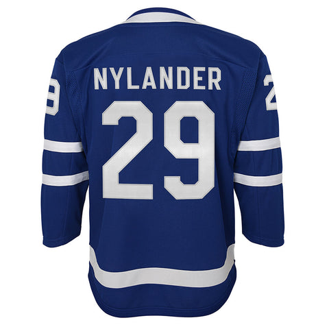 OUTERSTUFF YOUTH TORONTO MAPLE LEAFS NYLANDER PREMIER HOME JERSEY BLUE