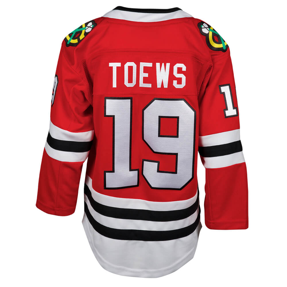 info for 778cb dfcf1 OUTERSTUFF YOUTH CHICAGO BLACKHAWKS PREMIUM HOME TOEWS JERSEY