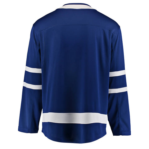 FANATICS MEN'S TORONTO MAPLE LEAFS BREAKWAY HOME JERSEY BLUE