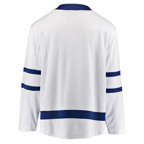 FANATICS MEN'S TORONTO MAPLE LEAFS AWAY JERSEY WHITE
