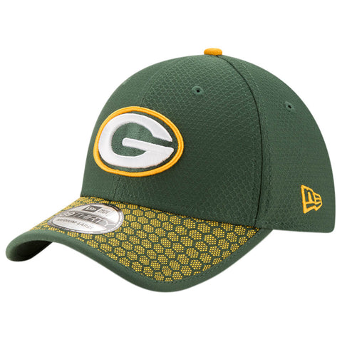 NEW ERA NFL17 GREENBAY PACKERS 3930 OFFICIAL SIDELINE CAP OTC
