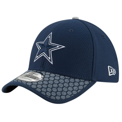 NEW ERA NFL17 DALLAS COWBOYS 3930 OFFICIAL SIDELINE CAP OTC