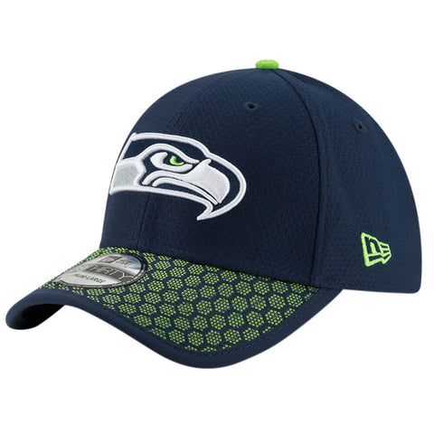 NEW ERA NFL17 SEATTLE SEAHAWKS 3930 OFFICIAL SIDELINE CAP OTC