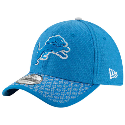 NEW ERA NFL17 DETROIT LIONS 3930 OFFICIAL SIDELINE CAP OTC