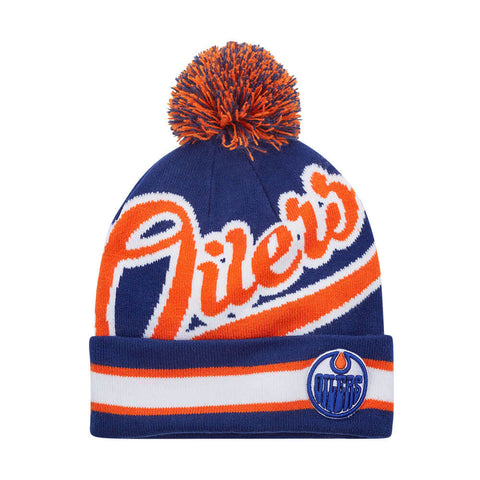GERTEX MEN'S EDMONTON OILERS FAN TOQUE