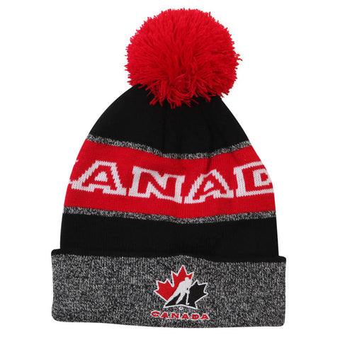 GERTEX MEN'S TEAM CANADA BOLD LOGO POM TOQUE