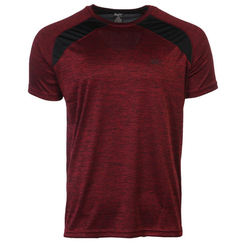 RAWLINGS MEN'S SHORT SLEEVE TOP BRICK RED