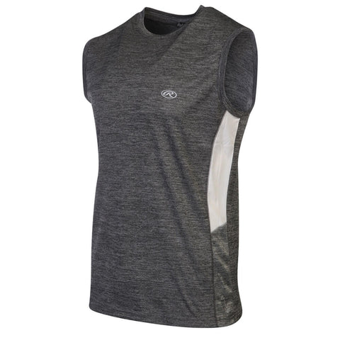 RAWLINGS MEN'S SLEEVELESS TOP BLACK