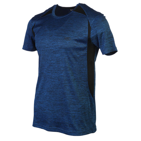 RAWLINGS MEN'S SHORT SLEEVE TOP BLUE