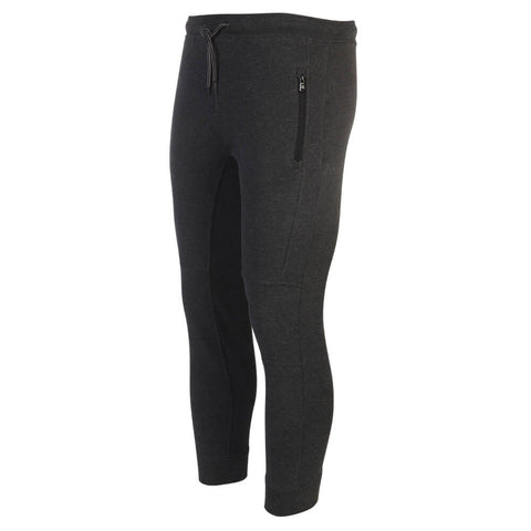 BURNSIDE MEN'S FLEECE JOGGER CHARCOAL MIX