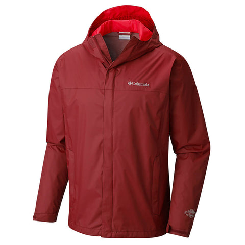 COLUMBIA MEN'S WATERTIGHT II JACKET RED ELEMENT