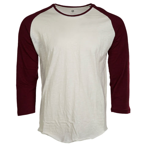 RIPZONE MEN'S MARC BASEBALL TOP WINE