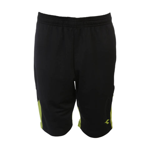 DIADORA BOYS 8'' KNIT SHORT BLACK/LIME