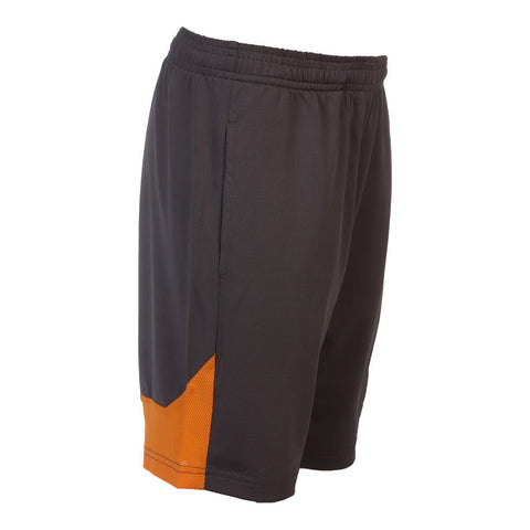 DIADORA BOY'S 8'' KNIT SHORT IRON/CARROT