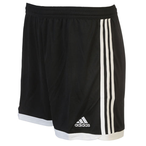 ADIDAS WOMEN'S TASTIGO 15 KNIT SHORTS BLACK/WHITE