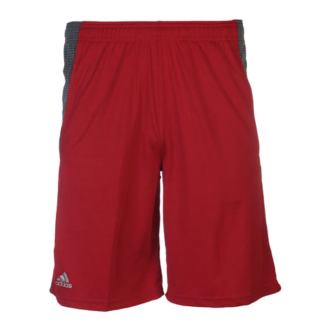 ADIDAS MEN'S AEROKNIT SHORT RED