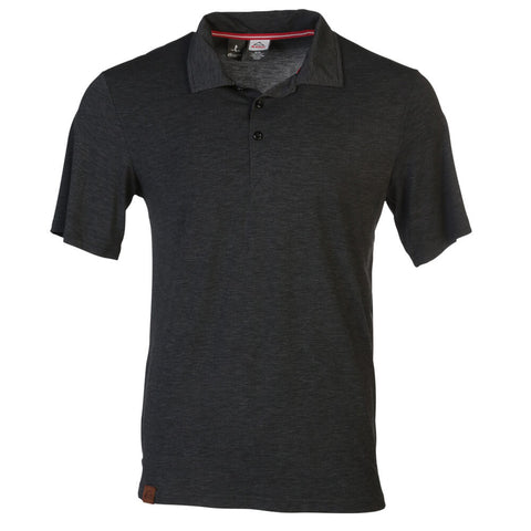 MCKINLEY MEN'S COBDEN POLO BLACK