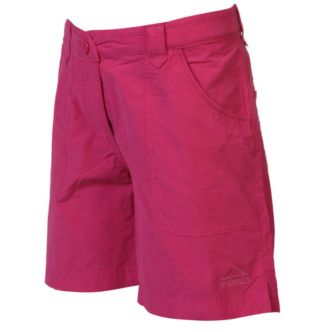 MCKINLEY GIRLS UWAPO SHORT PINK PEACOCK