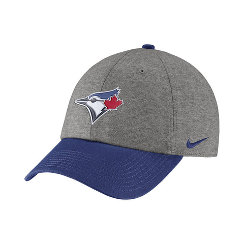 NIKE MEN'S TORONTO BLUE JAYS H86 HEATHER ADJUSTABLE CAP